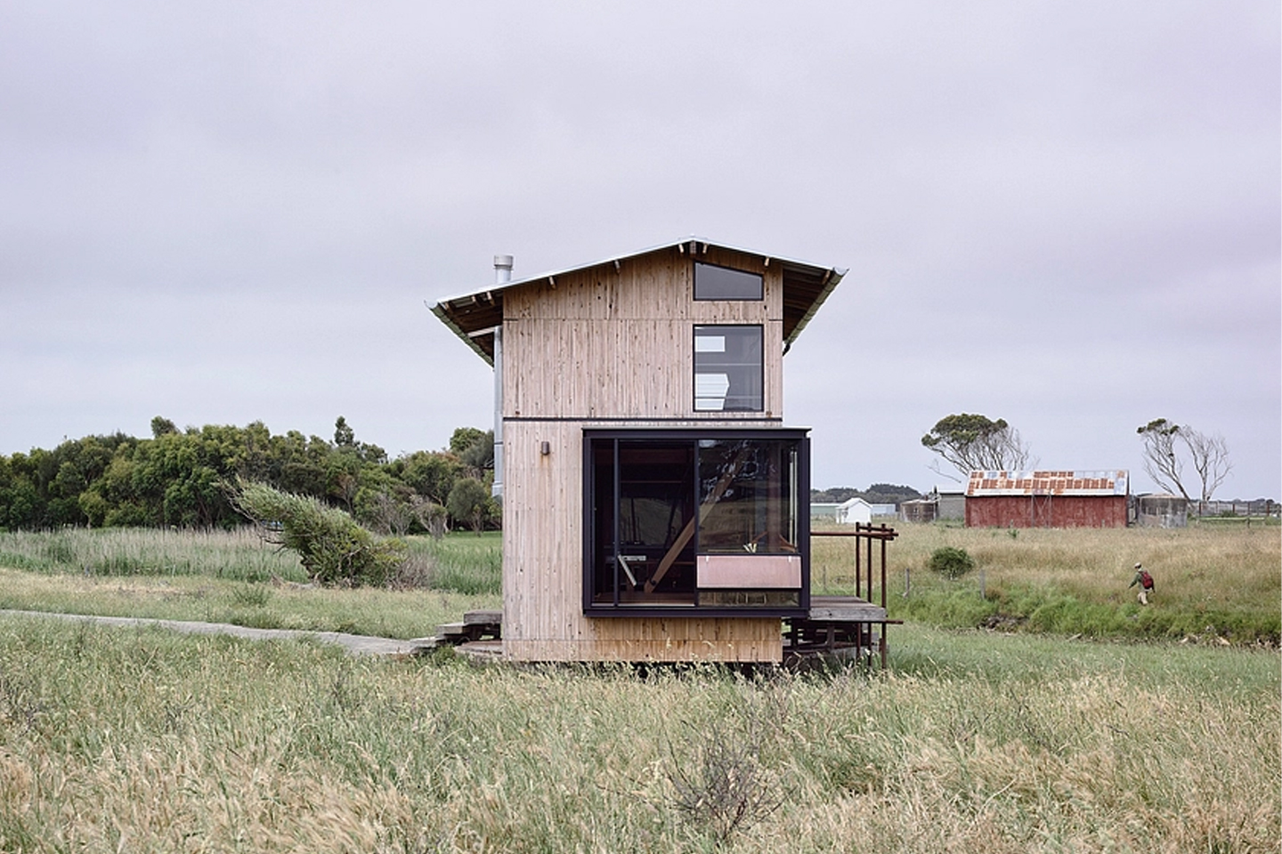Tiny Home with Expandable Cabin Design